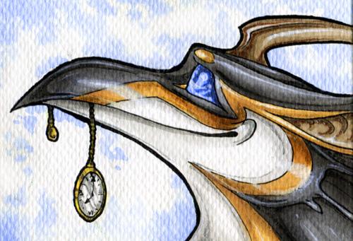 Kyrrahbird ACEO by Natoli