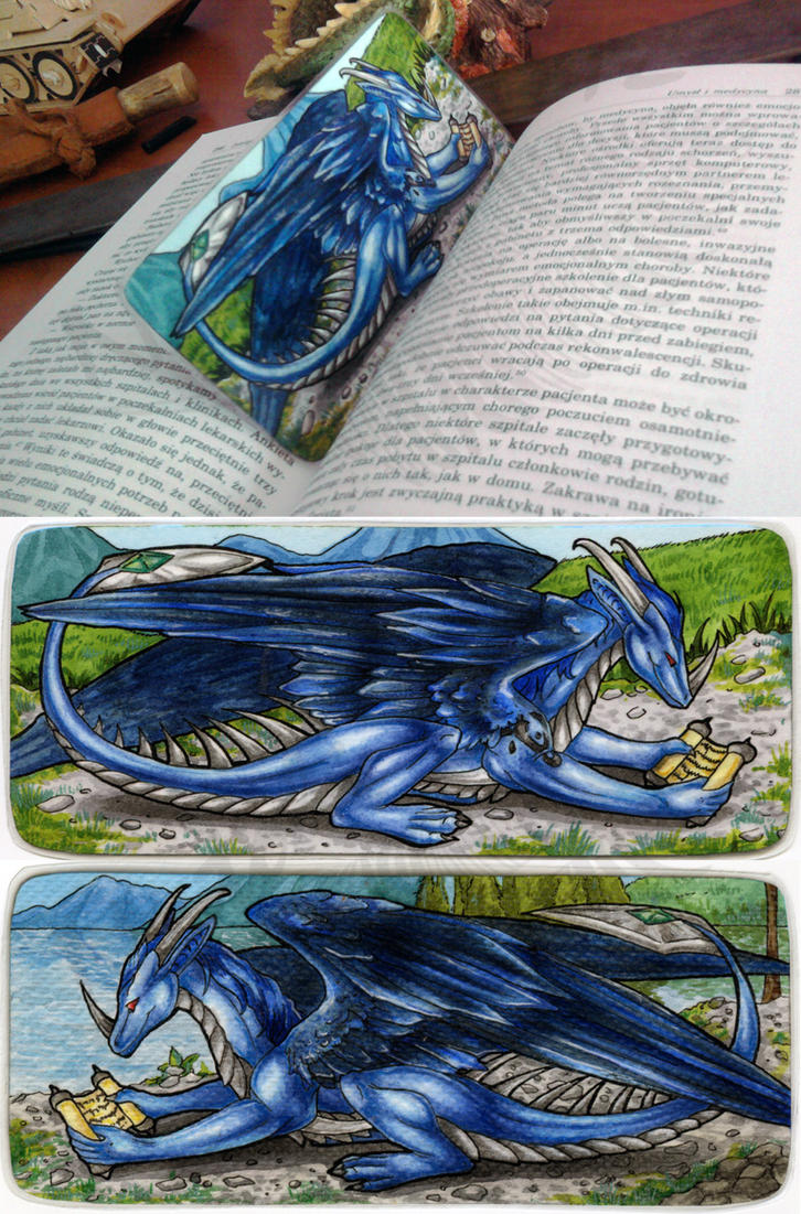 Safyras Bookmark by Natoli