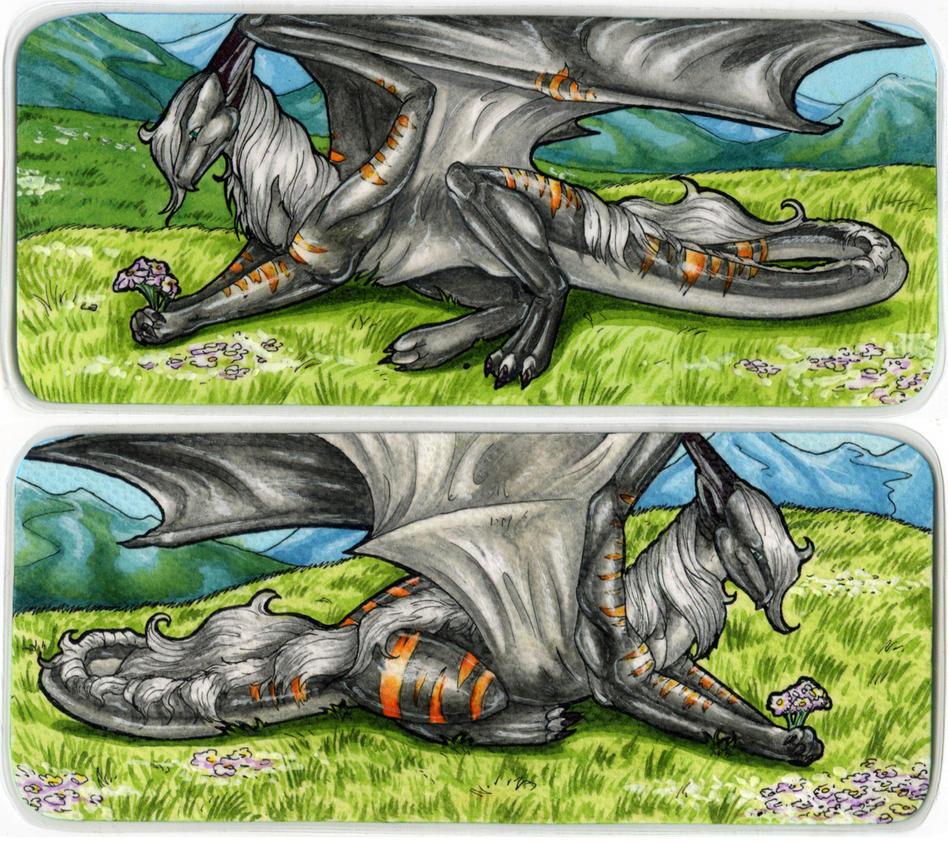 Dragonator/Void Bookmark by Natoli