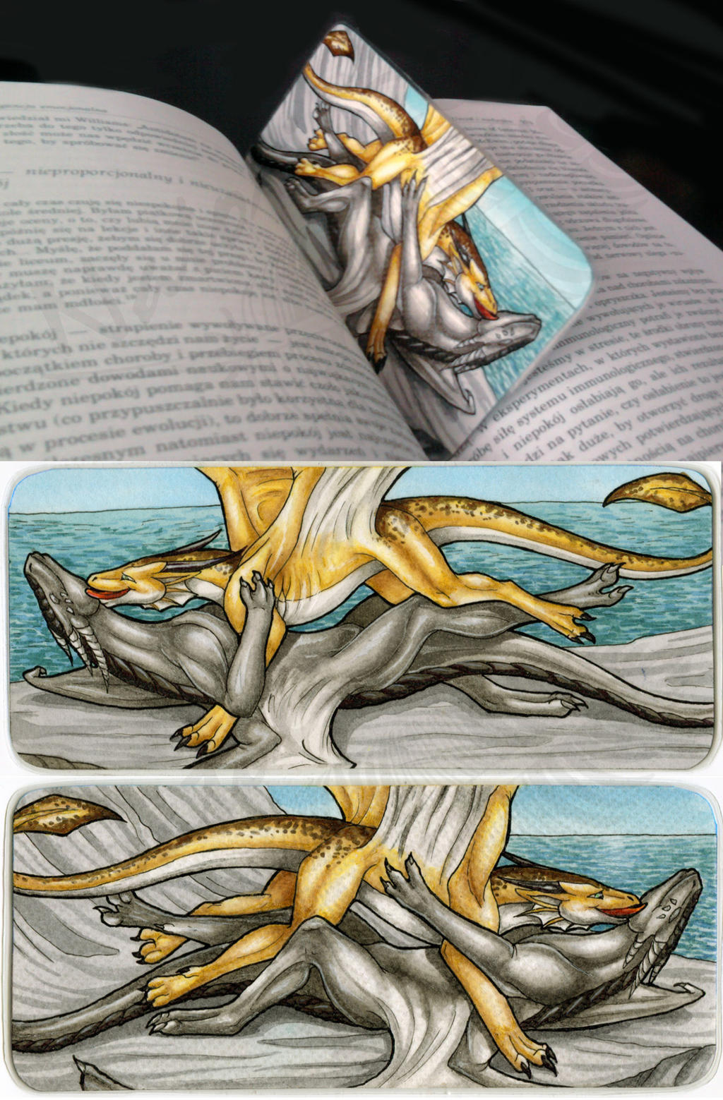 Jasriella Bookmark by Natoli