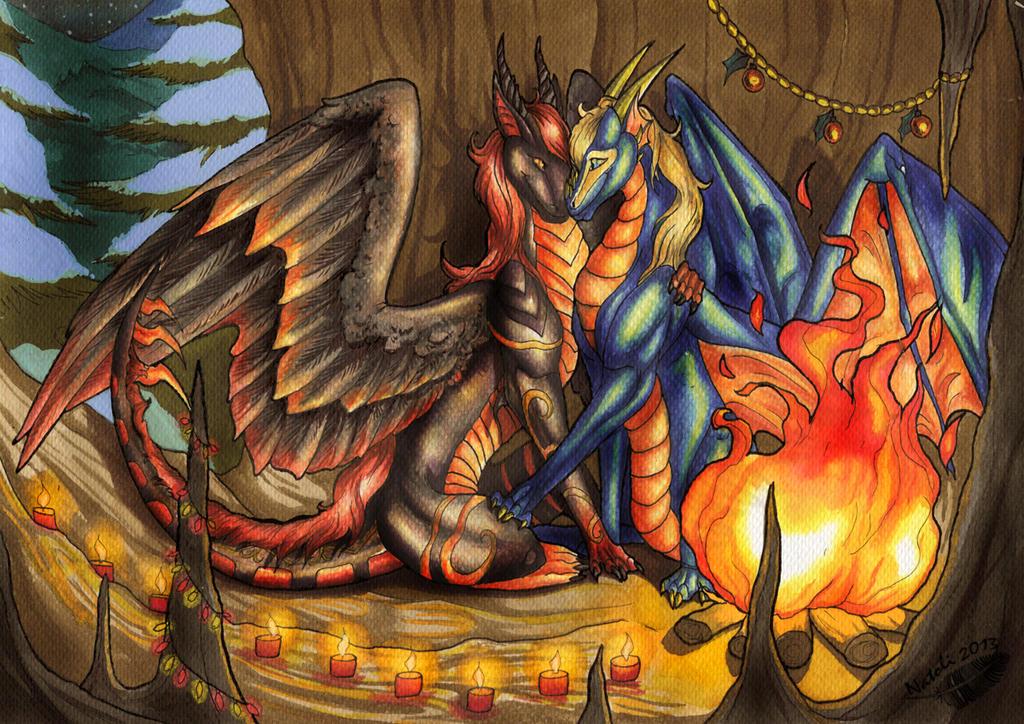 Romantic Fire by Natoli