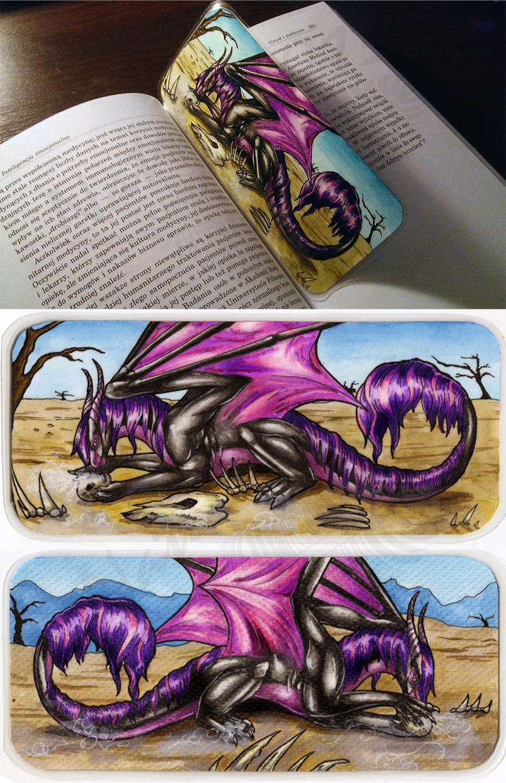 Drache-Lehre's Heshana Bookmark by Natoli