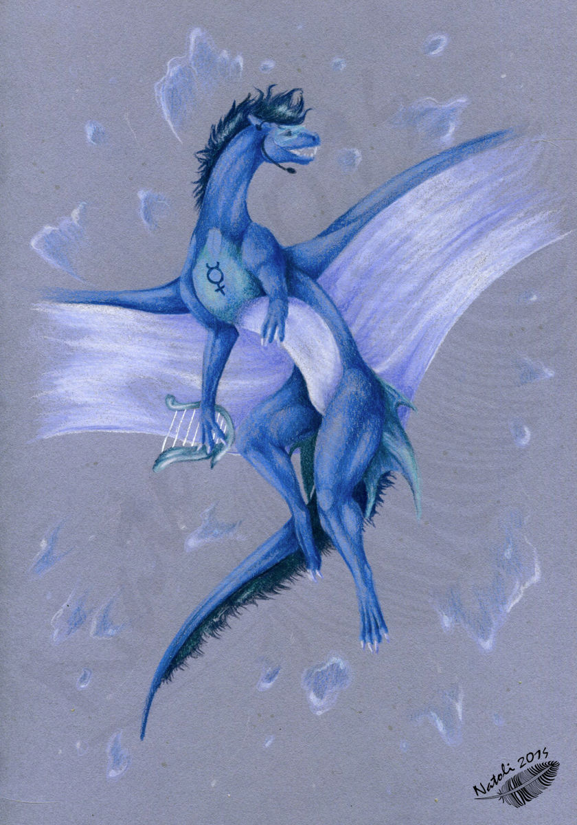 Dragoness Mercury by Natoli