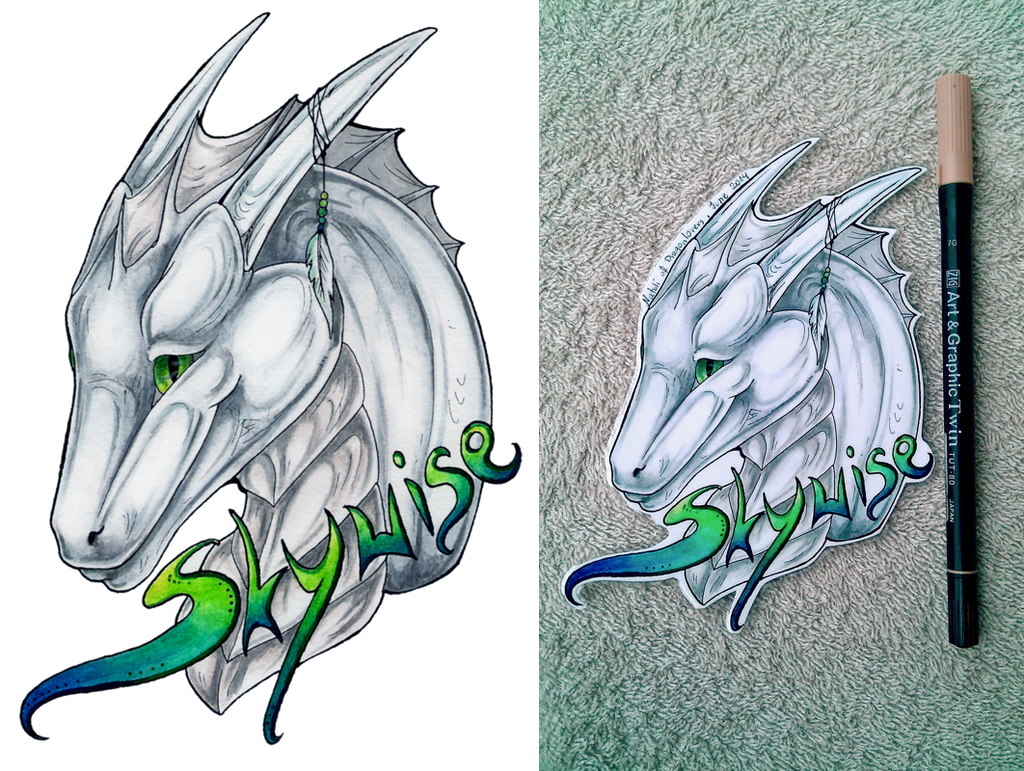 Skywize Badge by Natoli