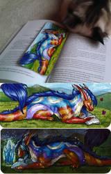 Xeshaire Bookmark by Natoli