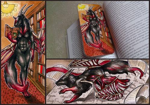 FlameInferno Bookmark by Natoli