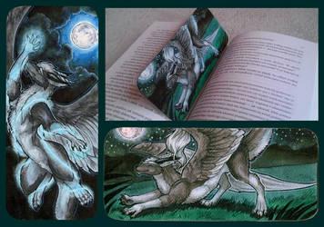 Zirius Bookmark by Natoli