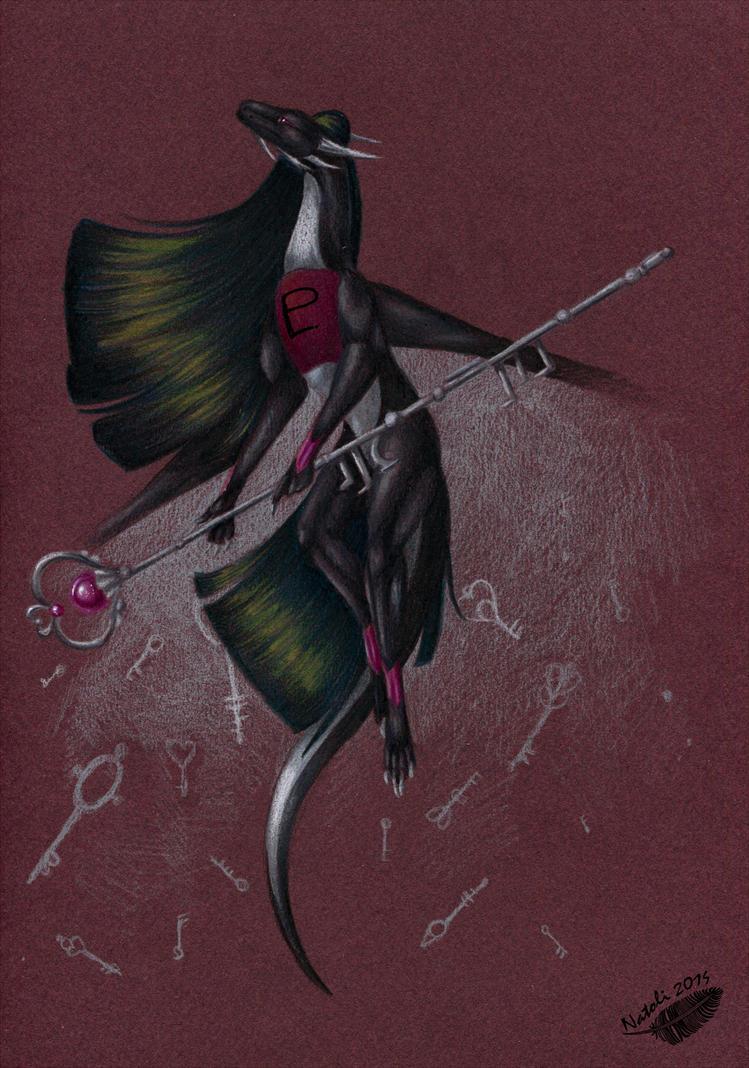 Dragoness Pluto by Natoli