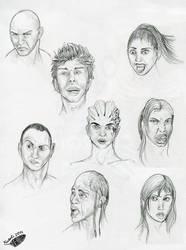 Heads exercises by Natoli