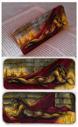 Wolfwcrex Bookmark by Natoli
