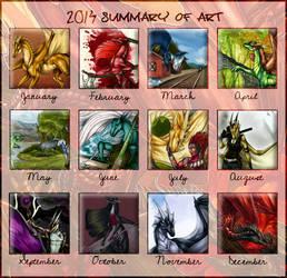 2014 Summary of Art by Natoli