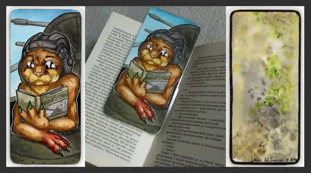 Trociniak Bookmark by Natoli
