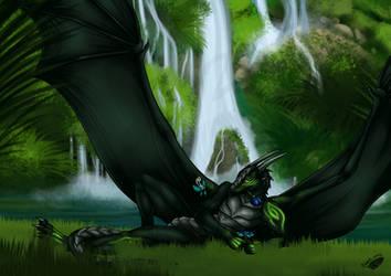 Waterfall Rest by Natoli