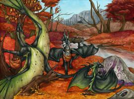 Autumn Treasures by Natoli