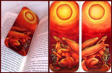 Azdaracylius Bookmark 2 by Natoli