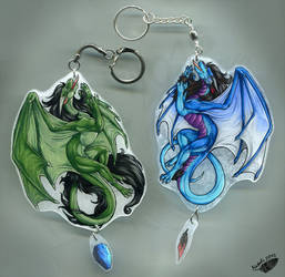 Ryken and Sedyana Keychains