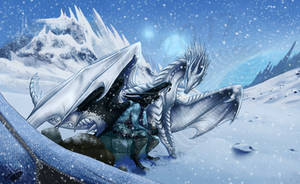 Icy morning by Natoli