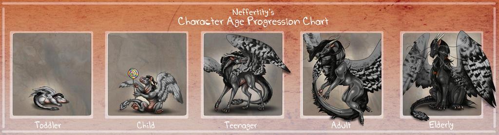 Feathered Mist Age Progression Chart