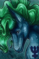 Neptune ACEO by Natoli