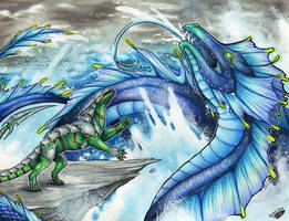 Mighty Leviathan by Natoli