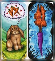 Rabbit Bookmark by Natoli