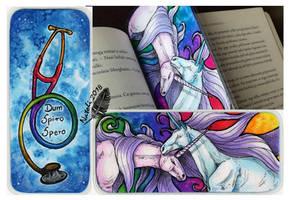 Unicorn Bookmark by Natoli