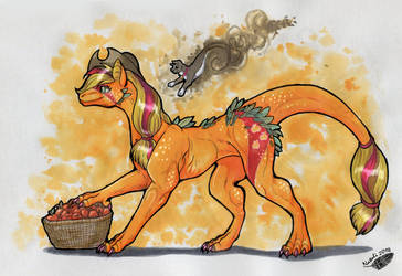 Dragon Applejack by Natoli