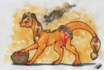 Dragon Applejack by Natoli