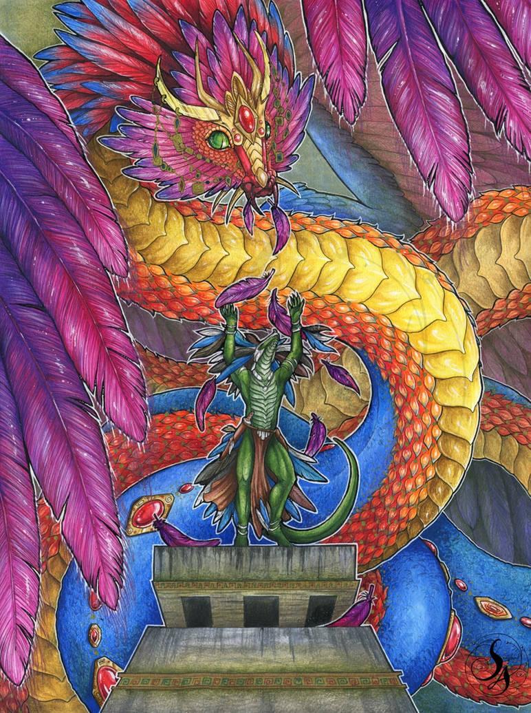 Quetzalcoatl's Divine Gift