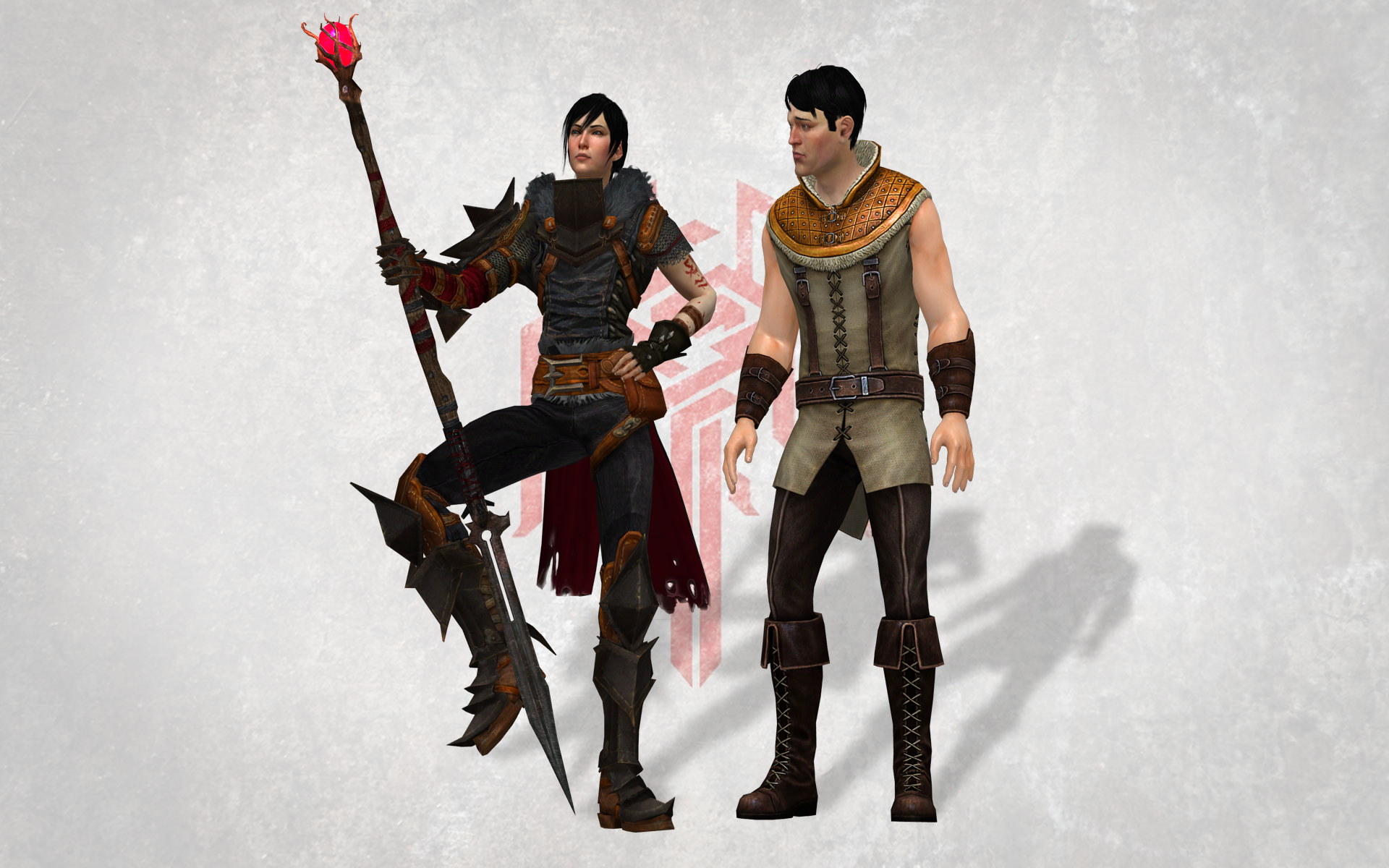 Dragon Age 2 : Marian and Carver by DOOM4Rus on DeviantArt