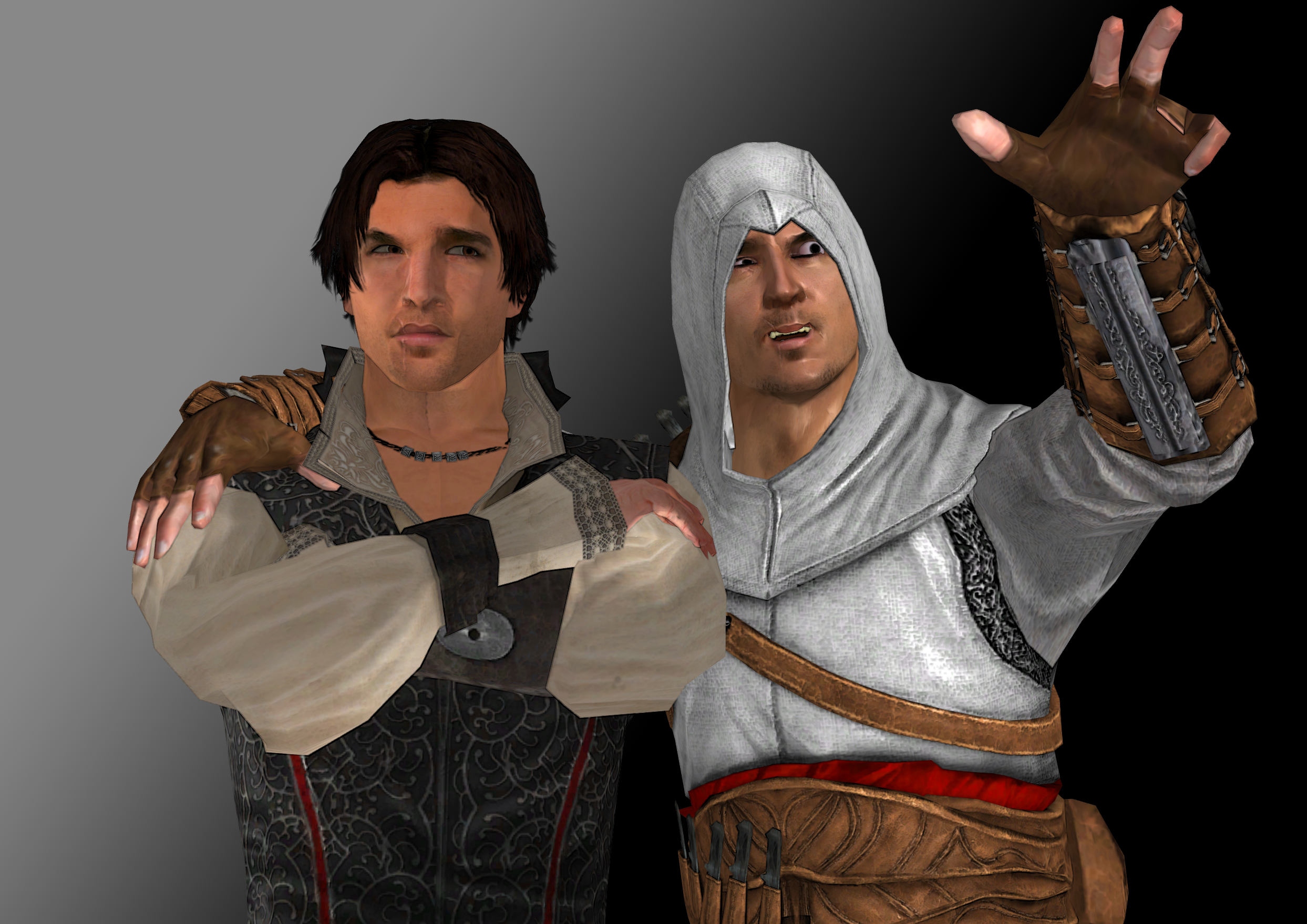 Assasin S Creed Ezio And Altair By Doom4rus On Deviantart