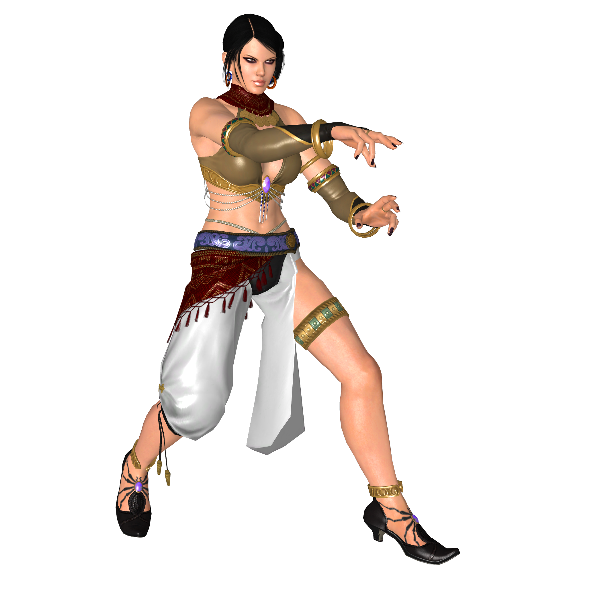 Tekken tag tournament 2 zafina by doom4rus on deviantart