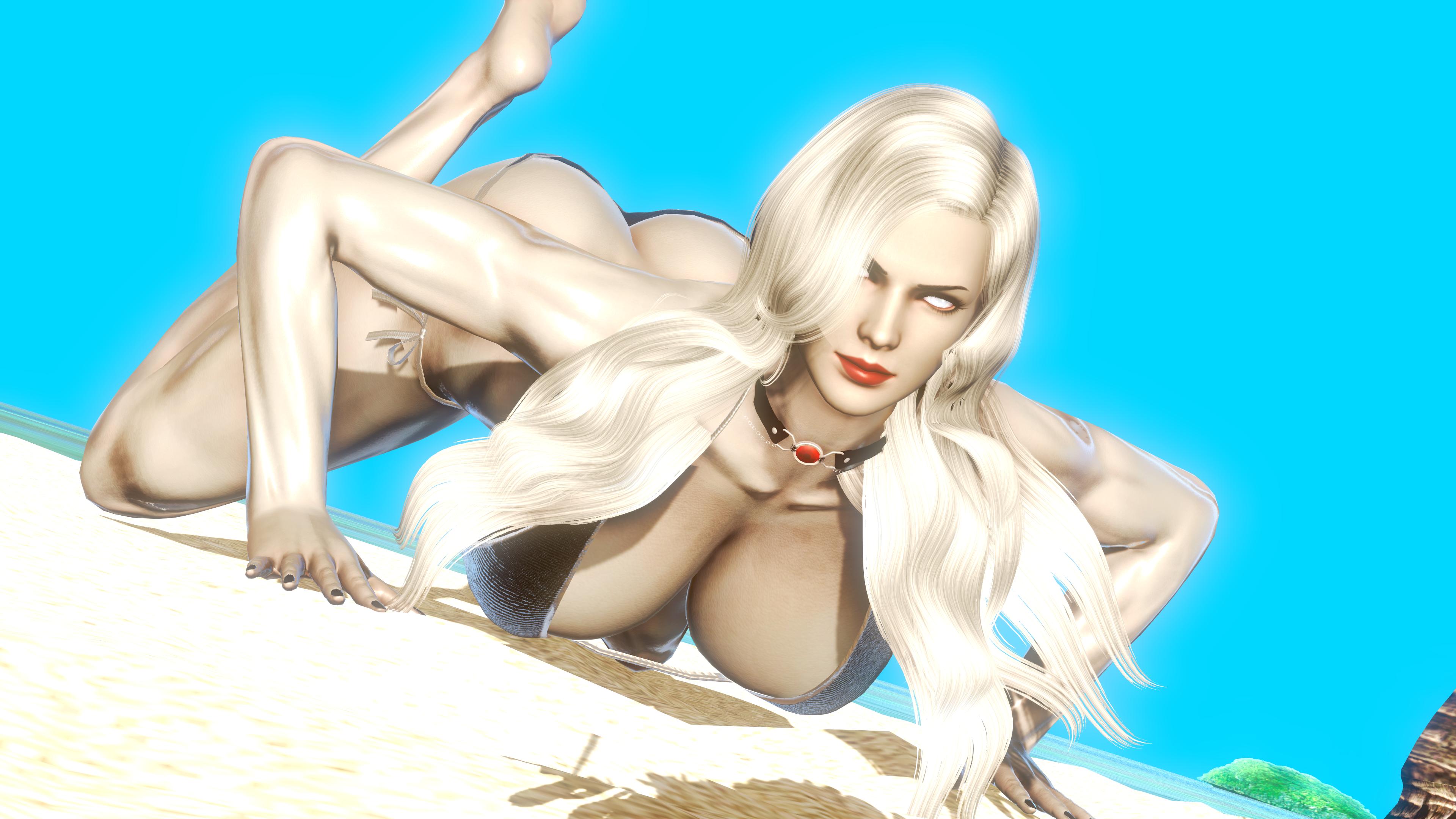 Lady death nude