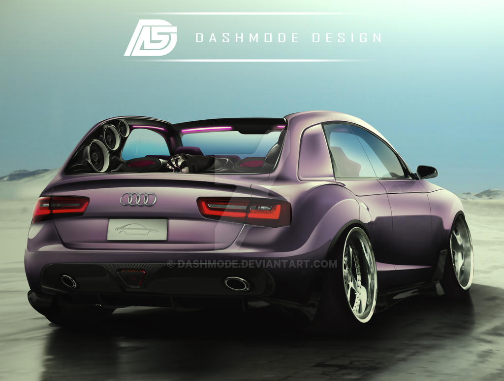 audi a4 cartel version by dashmode on deviantart. Black Bedroom Furniture Sets. Home Design Ideas