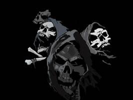 skulls by noodleboy88