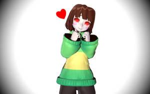 [MMD x UNDERTALE] Kawaii!!! by KanadeMori