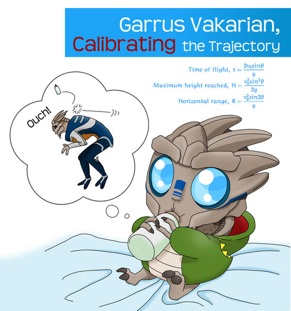 Tot Effect: Garrus Vakarian by koogee4