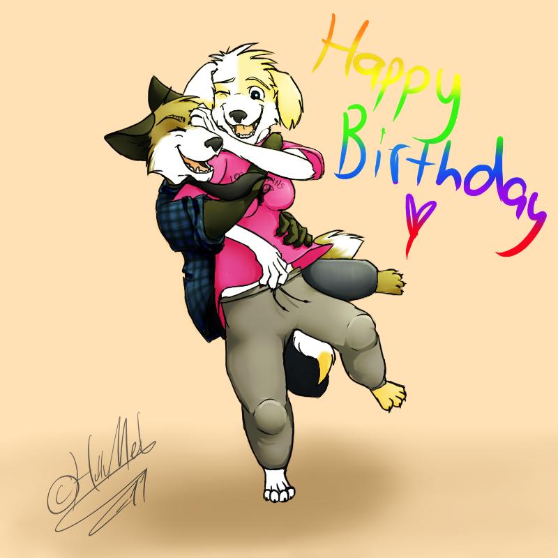 Happy Birthday, Hun By HulluMel On DeviantArt