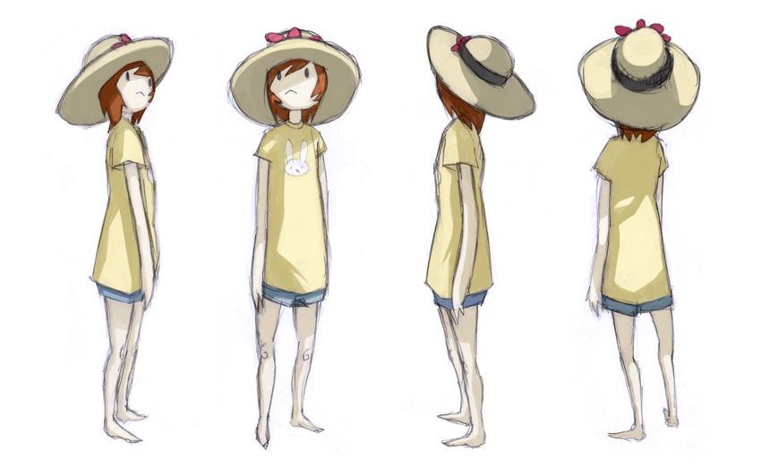 Character Sheet - Girl by FargalEX