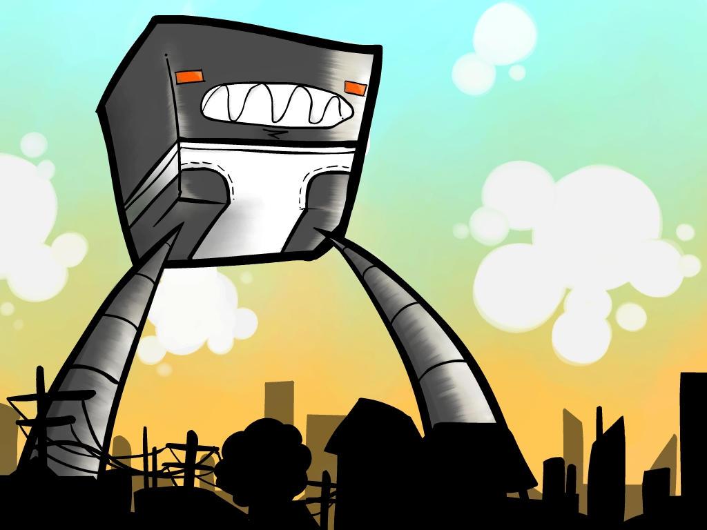 Pants robot by FargalEX