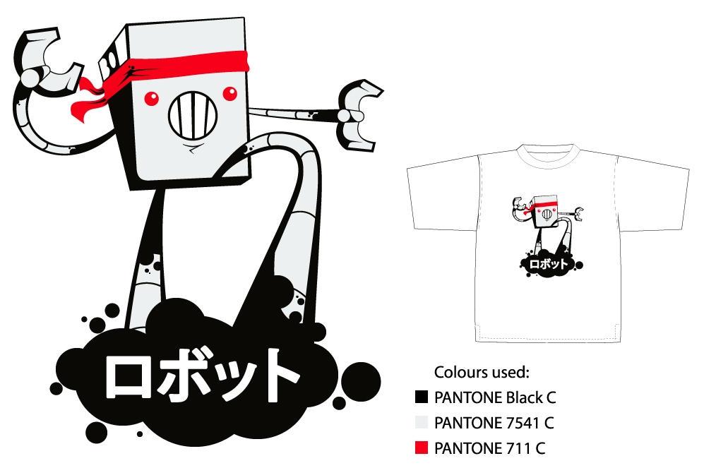 Karatebot shirt by FargalEX