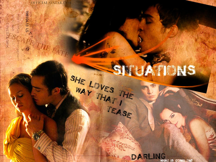 Situations - Chuck and Blair by Nuptaa