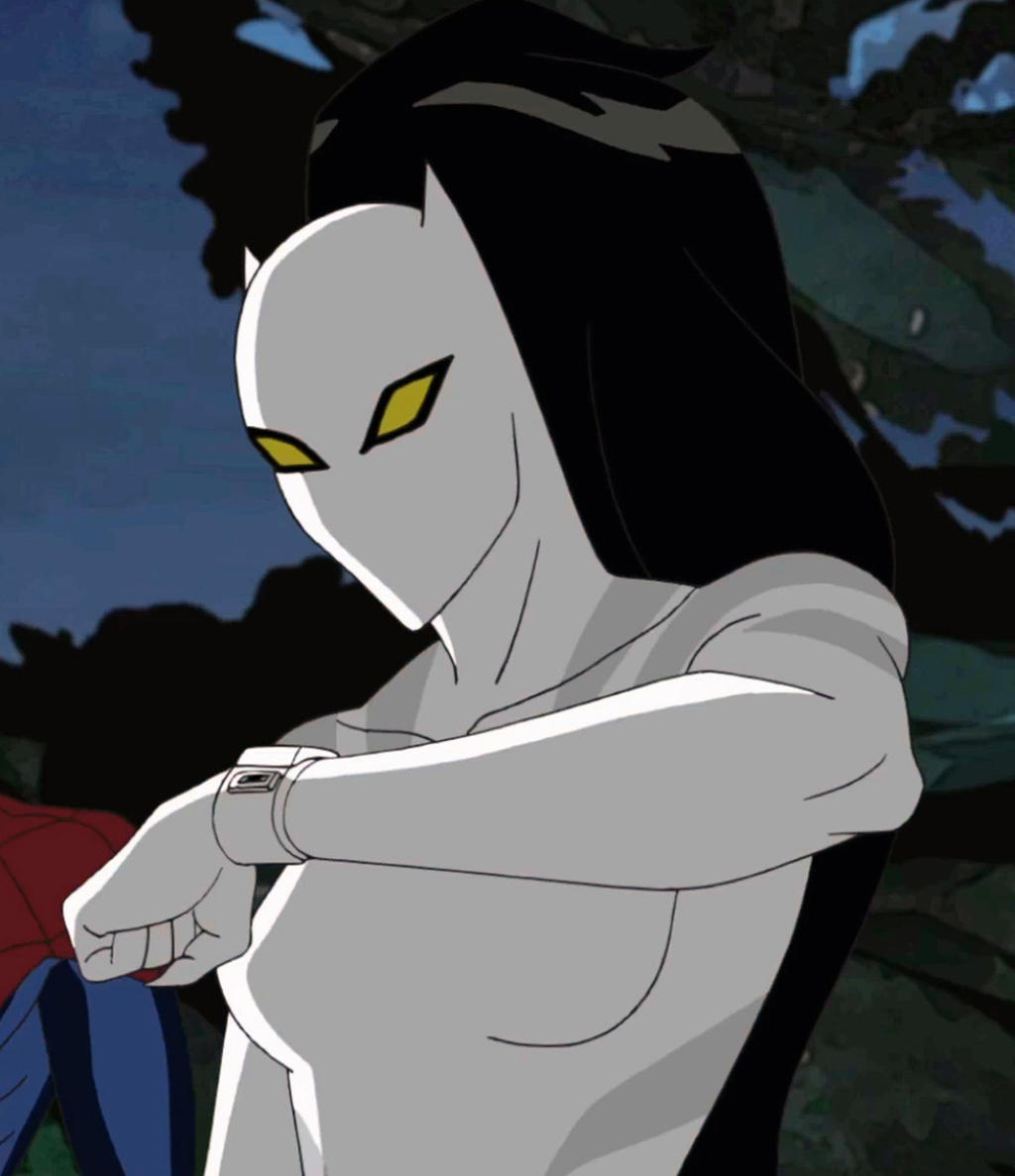 Ultimate Spiderman Whi...