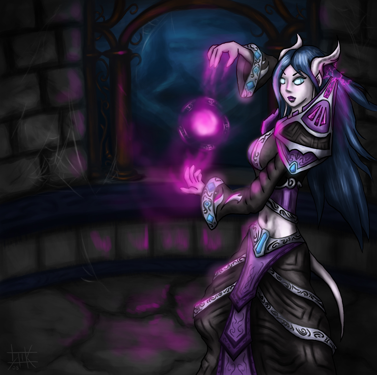 Wow draenei female xxx pic