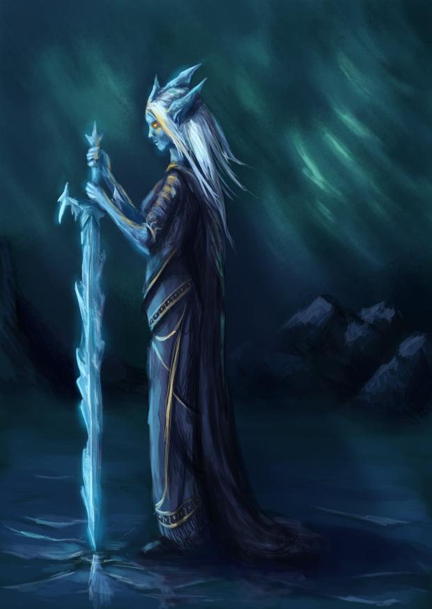 Frost Elemental by cubehero