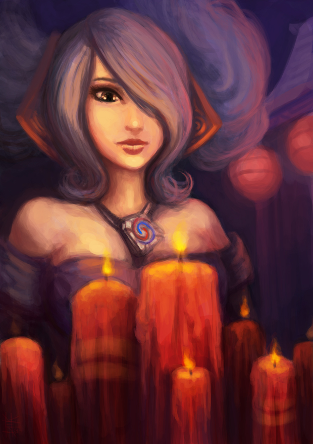 LoL - Wish upon a candle by cubehero