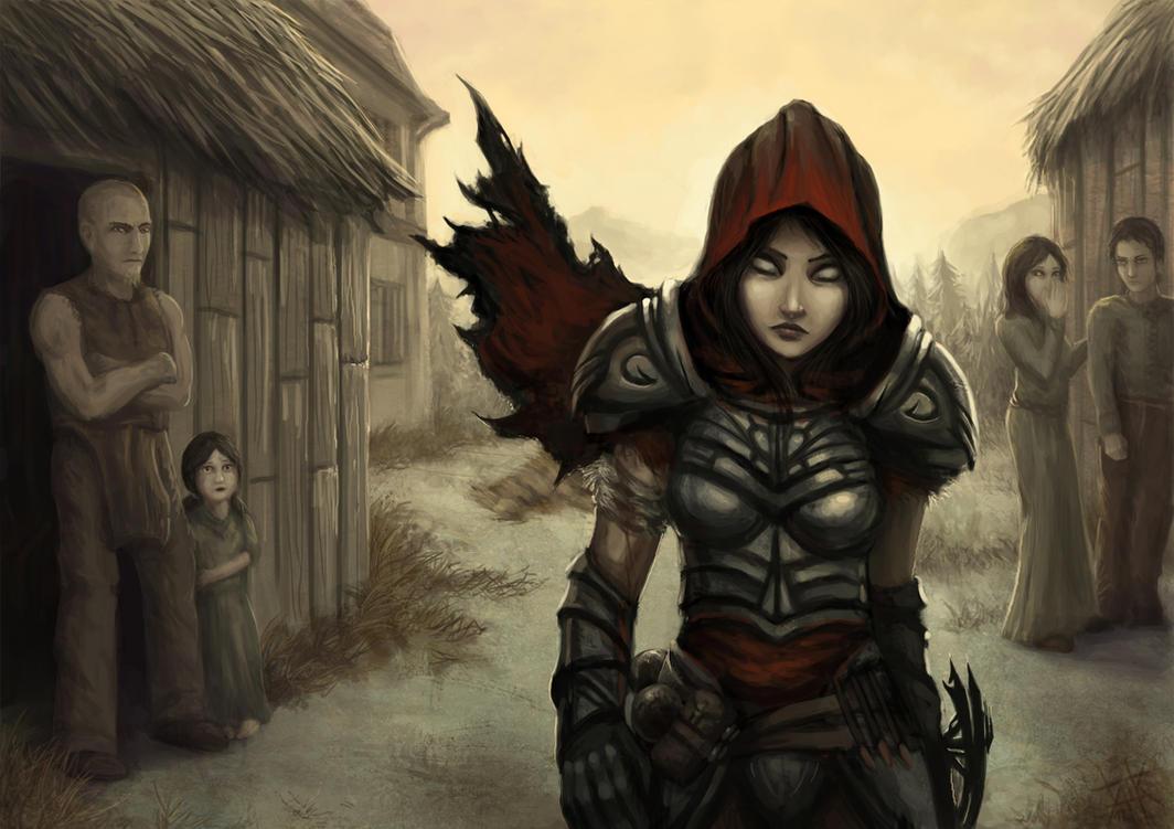 Diablo - Hunter's Burden by cubehero