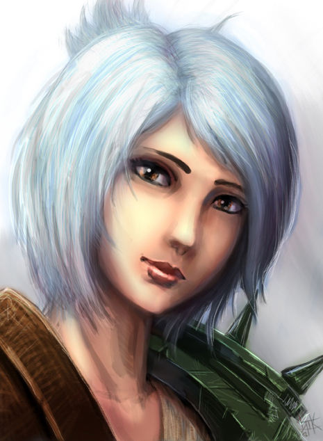 LoL - Riven by cubehero