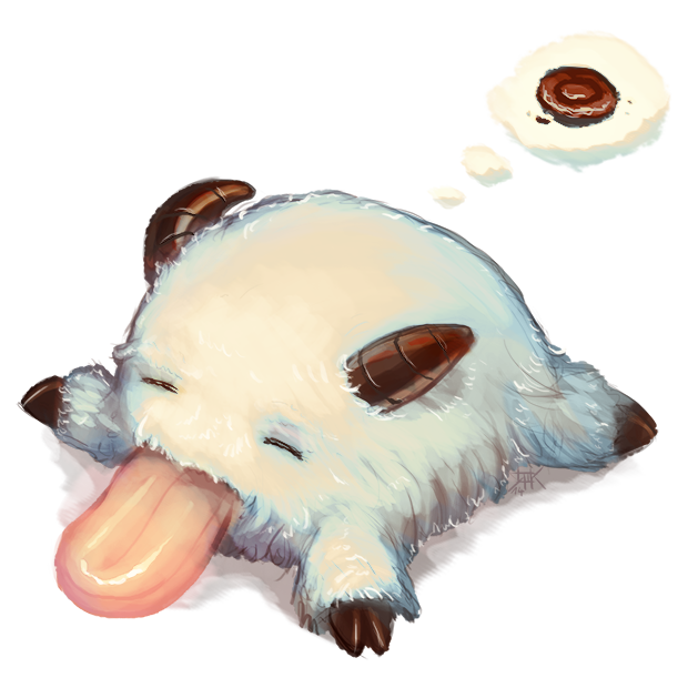 LoL - Sleepy Poro by cubehero on DeviantArt