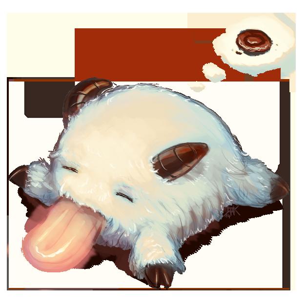 LoL - Sleepy Poro by cubehero on DeviantArt